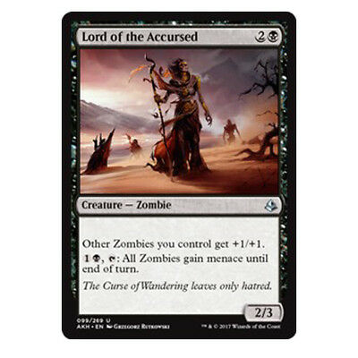 Lord of the Accursed - NM/M - Amonkhet - MTG