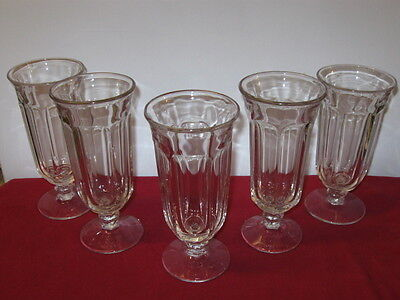 "Heisey Glass Co.  ""colonial""  Iced Tea Goblets (5)"