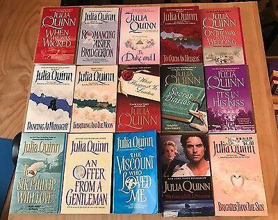 Lot of 21 Julia Quinn Wonderful Historical Romance-