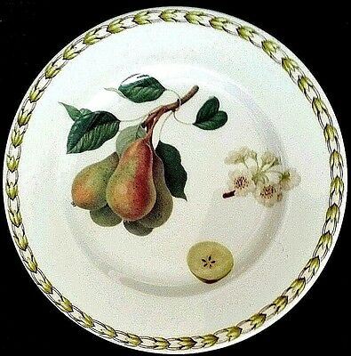 Queen's fINE Bone China Royal Horticultural Society Fruit Plate Pear