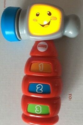 Fisher Price Laugh Learn Baby Hammer Toy Infant Toddler Learning Musical Spanish
