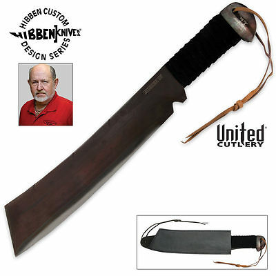 GIL HIBBEN IV Forged Machete Knife Rambo 4 GH5007 & Certificate of Authenticity