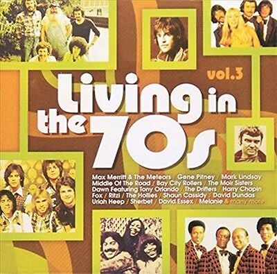 Living In The 70s Volume 3, 2015  Various CD NEW