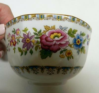 ROYAL GRAFTON ENGLAND Malvern Fine Bone China Open Sugar Bowl Floral Excellent