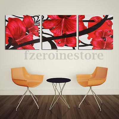 Modern Flower Buddha Canvas Painting Print Picture Wall Hanging Unframed Decor