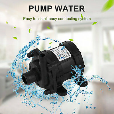 12V 500L/h Miniature High Pressure DC Water Pump For Marine, Boats,Caravan F5