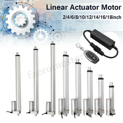 DC 12V Multi-function Linear Actuator Motor For Auto Car RV Electric Door Opener