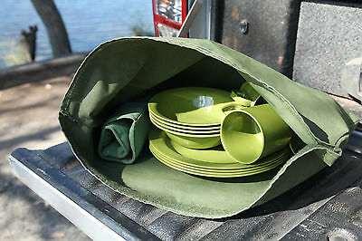 Camping Kitchen Bag.  Australian Made. Australian Canvas. Camping storage bag