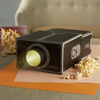 Cardboard Mini Smartphone DIY/Projector Mobile Phone Projector Portable Cinema
