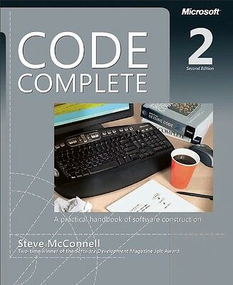 Code Complete (2nd edition) 952 pages