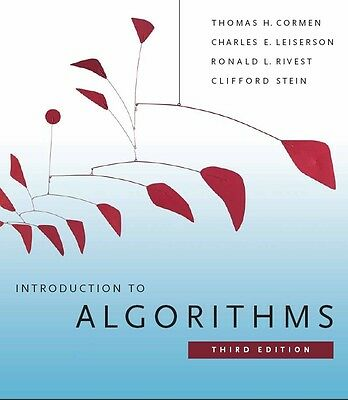 Introduction to algorithms, 3rd edition 1313 pages