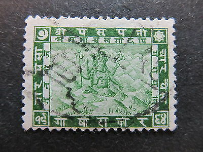A4P36 Nepal 1907 4p used #19