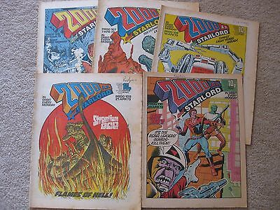 2000AD - Progs #106 to #110 (5 issues) [*NEW LOW PRICE*]