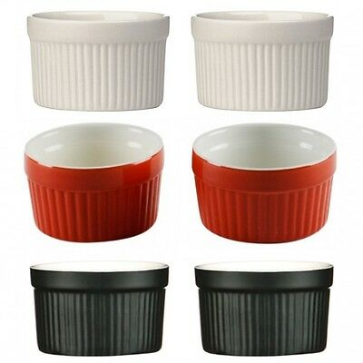 Souffle Dessert Pudding Crème Brulee Bowl Set Of 2/4/6 Kitchen Ceramic Ramekin