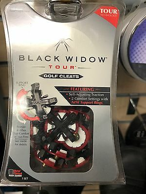 Black Widow Tour Golf Cleats
