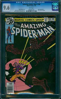 Amazing Spider-Man # 188  The Jigsaw is Up !  CGC 9.6  scarce book !