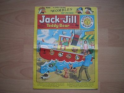 Jack And Jill And Teddy Bear Comic, 10Th August 1974