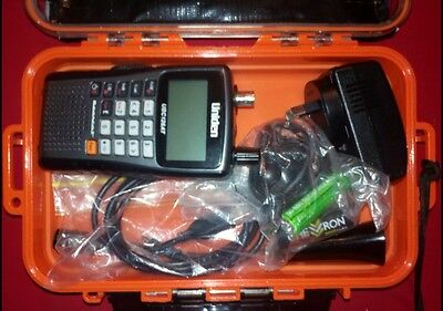 Uniden UBC126AT Radio Scanner in Carry Case - FREE POSTAGE