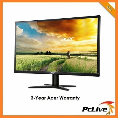 "27"" Acer G277HL FULL HD LED IPS Monitor HDMI 4ms 1080 100M:1 Wide Screen DVI VGA"