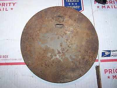 Old Cast Iron Stove Lid For The Old Wood Cookstove
