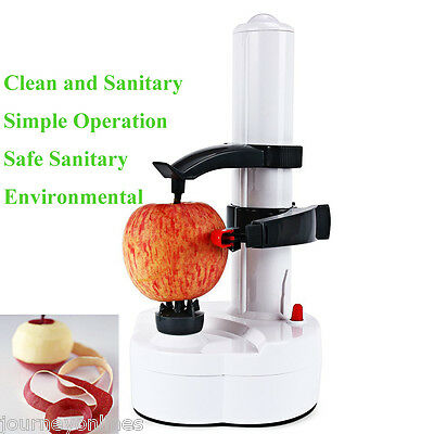 Electric Kitchen Peeler Quick Pare Potato Vegetable Fruit Two Spare Blades Hot