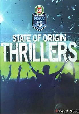 State of Origin Thrillers: New South Wales  - DVD - NEW Region 4