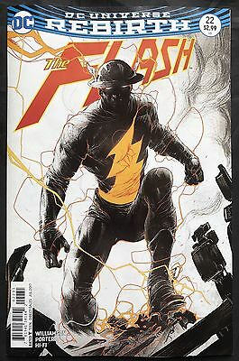 Dc Rebirth The Flash #22 Variant The Button