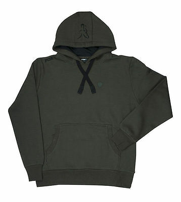 Brand New 2017 Fox Fishing Green Black Hoodie Hoody - All Sizes Available