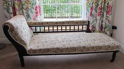 Victorian Day Bed, Chaise Longue