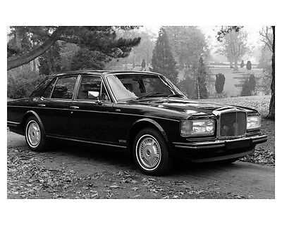 1986 Bentley 8 Factory Photo uc0931