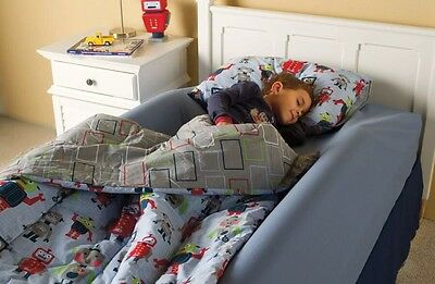 Toddler Bed Rail by One Step Ahead Inflatable Safety Bumpers - No Pump Set Of 2