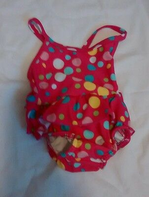 Baby girls swimsuit 6-9 months