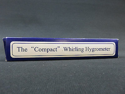 "The ""Compact"" Whirling Hygrometer"