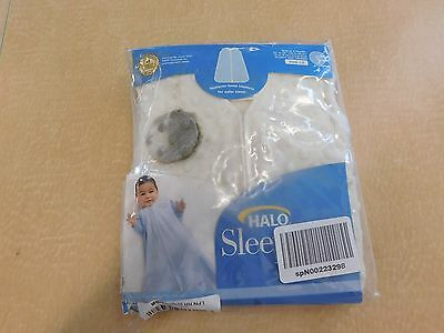 HALO SleepSack Plush Dot Velboa Wearable Blanket, Small, Birth-6 Months
