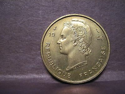 French West Africa, 25 Francs 1956