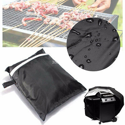 2 Size BBQ Cover Outdoor Waterproof Barbecue Covers Garden Patio Grill Protector