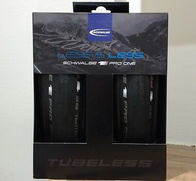Schwalbe Kit PRO ONE TUBELESS EASY 700x25c