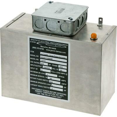 G5843 Grizzly Static Phase Converter - 3 to 7 HP