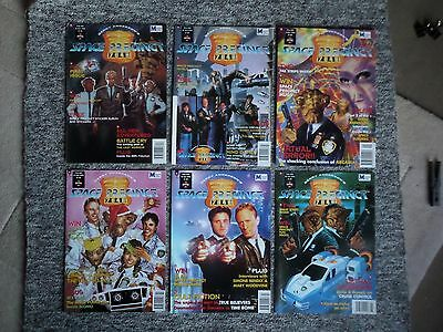 6 x Gerry Anderson SPACE PRECINCT UK Comic Magazine # 1 2 3 4 5 6 (1995)