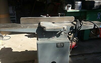 Rockwell 8 inch Jointer 220 single phase cabinetry carpentry industrial tool