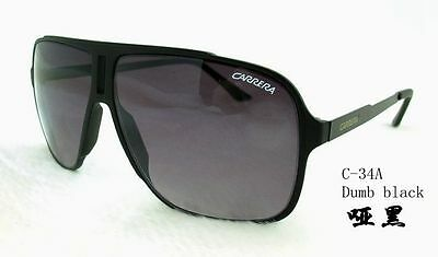 00d73be2bd56 Fashion Men's & Women Retro Sunglasses Unisex Matte Frame Carrera Glasses  ...