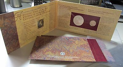 1993 Jefferson Coin and Currency Set Silver Dollar Two Dollar Note Jefferson 5