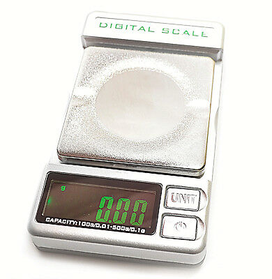 Mini Digital Scale Electronic LCD Display Weight Balance 500g*0.01g Scales. 0301