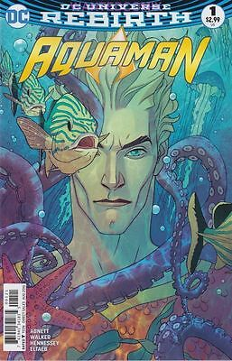 Aquaman #1 Variant Edition Cover June 2016 Sold Out Dc Comic Book Rebirth