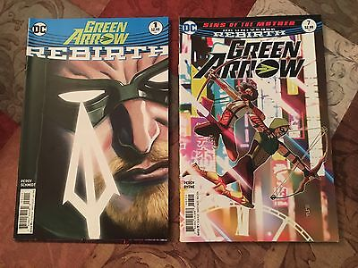Green Arrow Rebirth Special, 1, 2, 3, 4, 5, 6, 7 Lot
