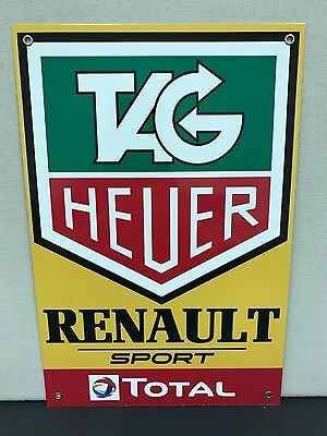 Renault F1 tag heuer racing formula 1 grand Prix large sign