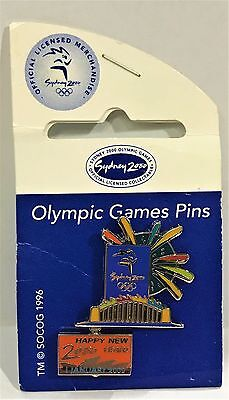 Happy New 2000 Year 1 January 2000 Sydney Olympic Games 2000 Pin Collect #895