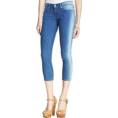 Levis 9528 Womens 524 Skinny Denim Cuffed Low-Rise Cropped Jeans 3 26 BHFO