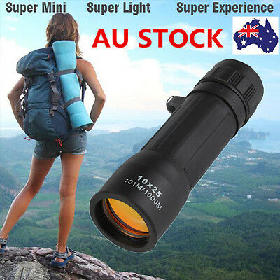 Portable Mini Zoom Optics Monocular Telescope Spot Scope Outdoor Hiking Camping