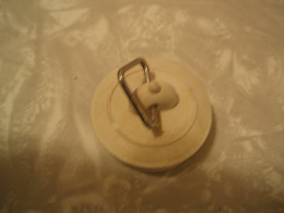 SINK TUB STOPPER With Chain, FITS MOST TUBS & DRAINS For 1-3/4 ...